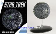 Star Trek Official Starships Collection #010 Borg Sphere Eaglemoss